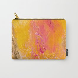 Tangerine Closeup Carry-All Pouch