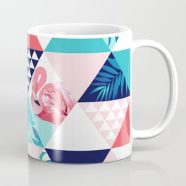 seamless pink flamingo pattern Coffee Mug
