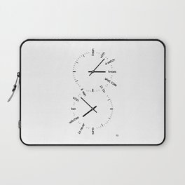 Two Watches Laptop Sleeve