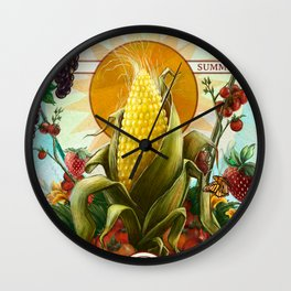 Summer 2014 Wall Clock