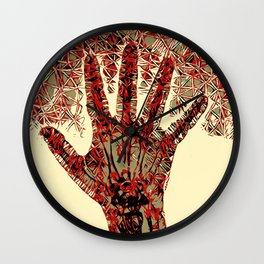 Hand (Right) Wall Clock