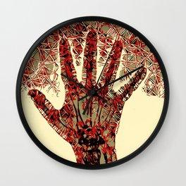 Hand (Right) Wall Clock