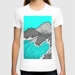 The Rocks And The Sea T-shirt