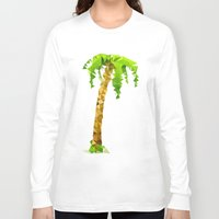 palm tree Long Sleeve T-shirts featuring Palm Tree by Bidonville