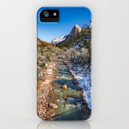 Virgin_River 4764 - Canyon Junction Zion iPhone Case