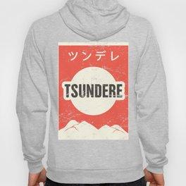 TSUNDERE - Vintage Japanese Anime Poster Hoody