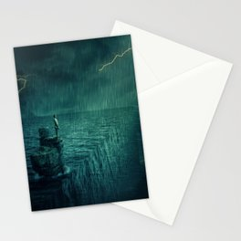 At the edge of Nothing Stationery Cards