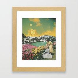 Golden Eden Framed Art Print