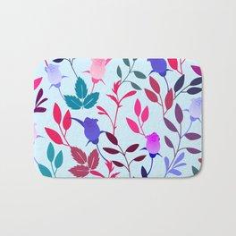 Flower Pattern III Bath Mat