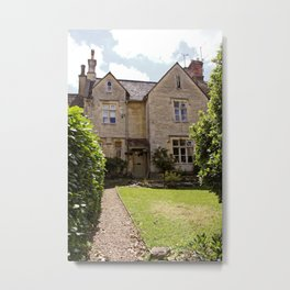 British Country Home in Cirencester - Cotswolds Metal Print