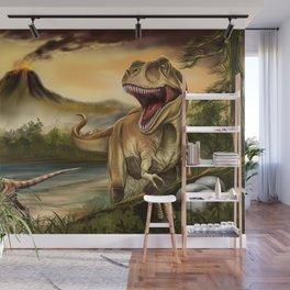 Predator Dinosaurs Wall Mural