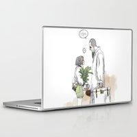 kim sy ok Laptop & iPad Skins featuring OK?! by doFirlefanz