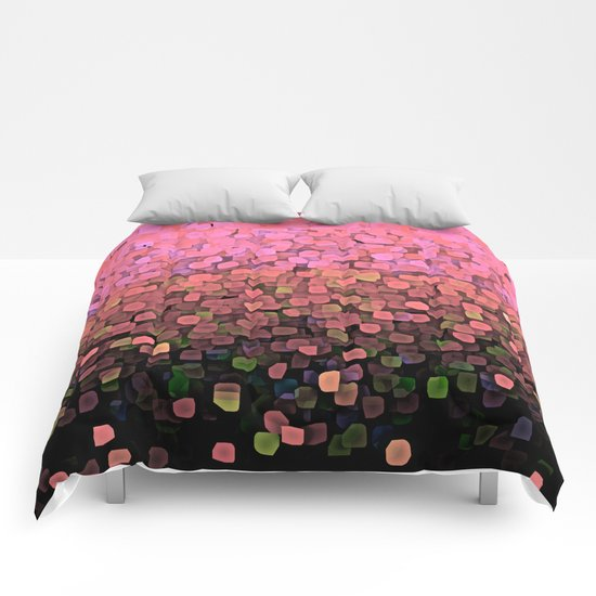 Sparkles and Glitter Pink Comforters