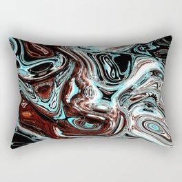 pouring emotions Rectangular Pillow