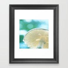 A Bug's Beach Umbrella Framed Art Print