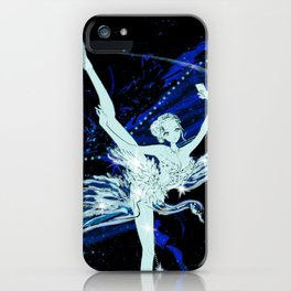 Cygnus / Leda and Swany iPhone Case