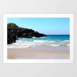 Hawaiian Beach Art Print