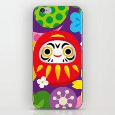 Daruma iPhone & iPod Skin