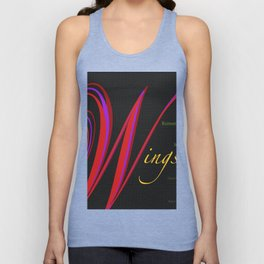 Wings Unisex Tank Top