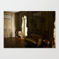 baroque Canvas Prints featuring Baroque by Emily Caldwell