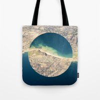 america Tote Bags featuring AMERICA by DILLON MCINTOSH