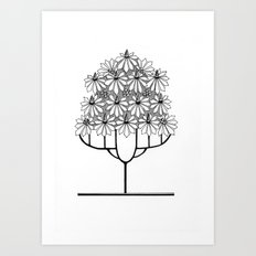 Tree Collection -1 Art Print