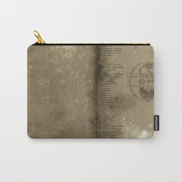 Declaration, a antique paper texture that would look great on a case of any kind. Artist recommends  Carry-All Pouch