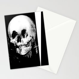 All Is Vanity: Halloween Life, Death, and Existence Stationery Cards