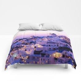 Santorini Night Comforters