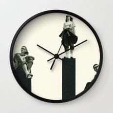 No Man is an Island Wall Clock