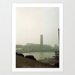 modern fog Art Print