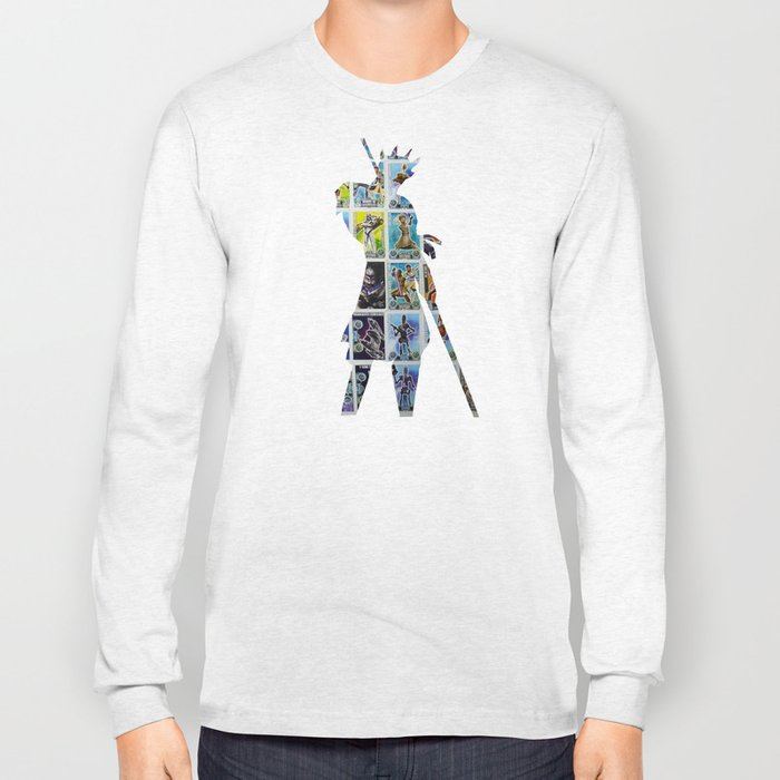 Cut StarWars Collage 8 Long Sleeve T-shirt