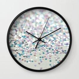 NICE NEIGHBOURS - GLITTER PHOTOGRAPHY Wall Clock