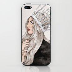 Silver Blonde iPhone & iPod Skin