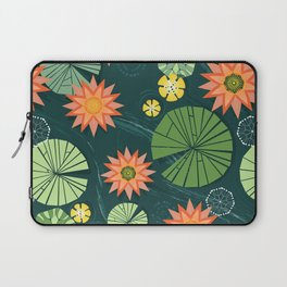 Lily pad pond Laptop Sleeve