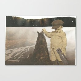 the þórsmörk guardian Canvas Print