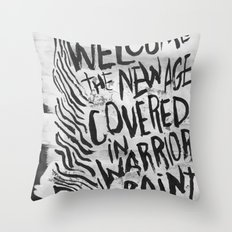 THE NEW AGE Throw Pillow