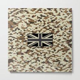 Camouflage: Arid Desert III Metal Print