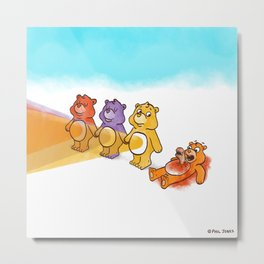 Care Bear Ahhhhh Metal Print