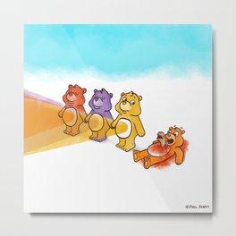 Care Bear Ahhhhh Metal Print