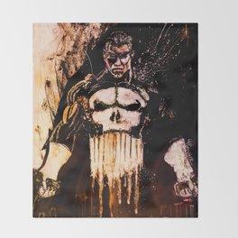 Punisher Throw Blanket