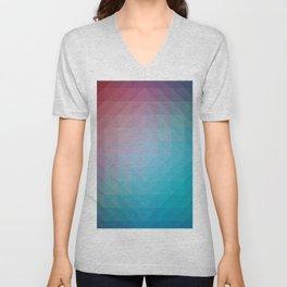 Blend Pixel Color 6 Unisex V-Neck