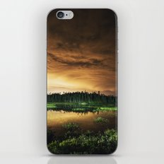 Light Polluted Lake iPhone & iPod Skin