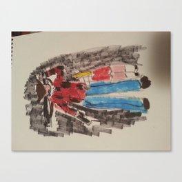 New Zomnie Product Zeke 2  Canvas Print