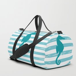 AFE Turquoise Seahorse Duffle Bag