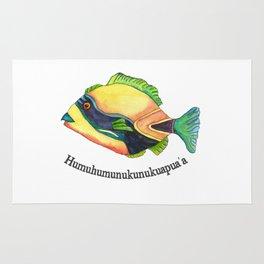 H is for Humuhumunukunukuapua'a Rug