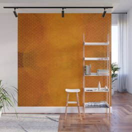 """Sabana Sunset Light Polka Dots"" Wall Mural"