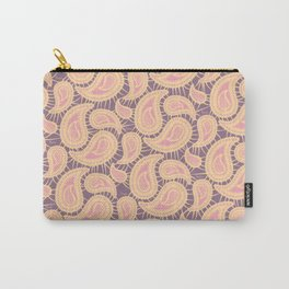Paisley Pattern V Carry-All Pouch
