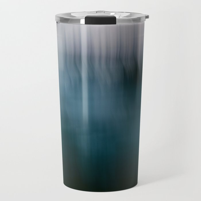 Forest Wilderness by the Sea Abstract Travel Mug