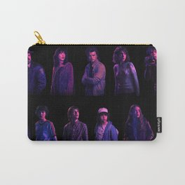 StrangerThings2Cast Carry-All Pouch